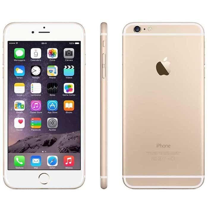 iPhone 6 Recondicionado Dourado 16gb