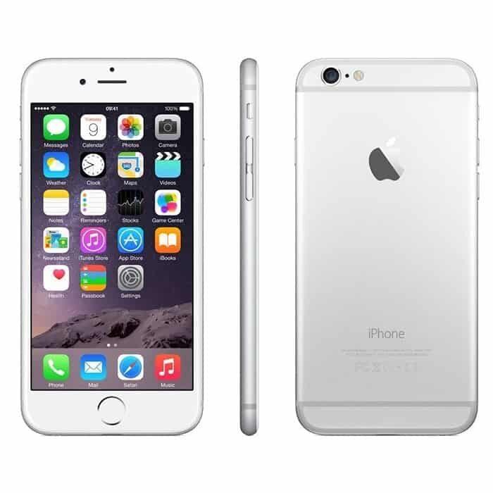 iPhone 6 Recondicionado Prateado 64gb