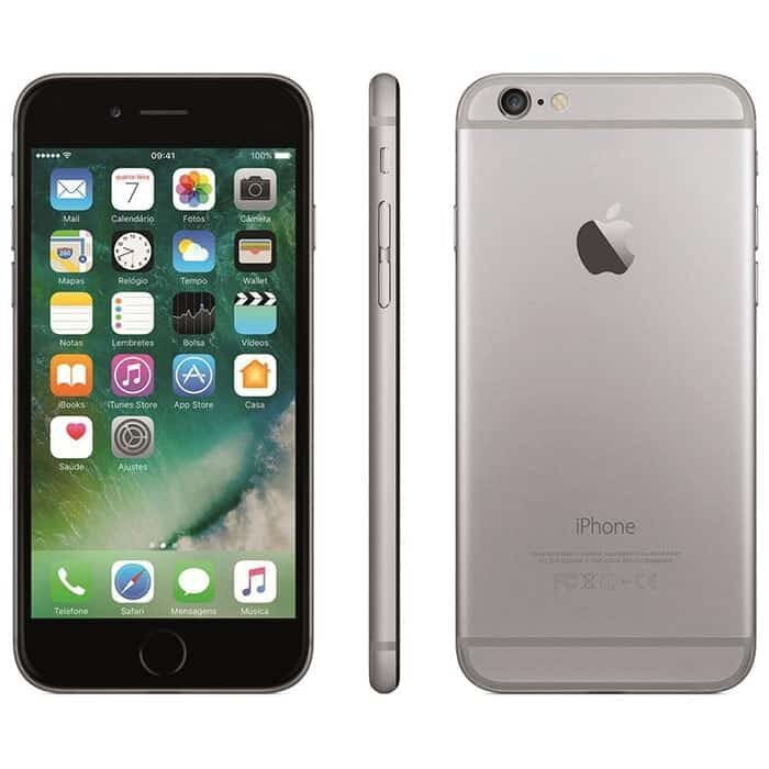 iPhone 6 Plus Cinzento Sideral 16gb
