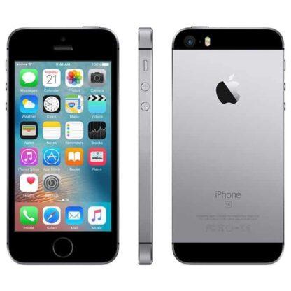 Iphone se, de cor cinzento sideral, com capacidade de 16gb