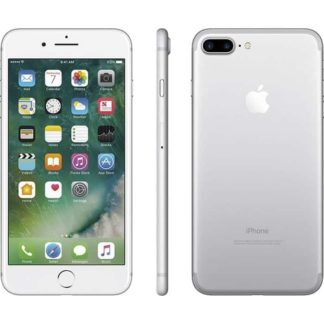Iphone 7 plus recondicionado, cor prateado, com capacidade de 32gb