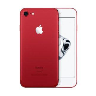 Iphone 7 recondicionado, cor vermelho, com capacidade de 128 gb