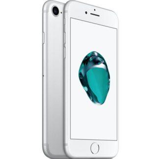 Iphone 7 recondicionado, cor prateado, com capacidade de 32 gb