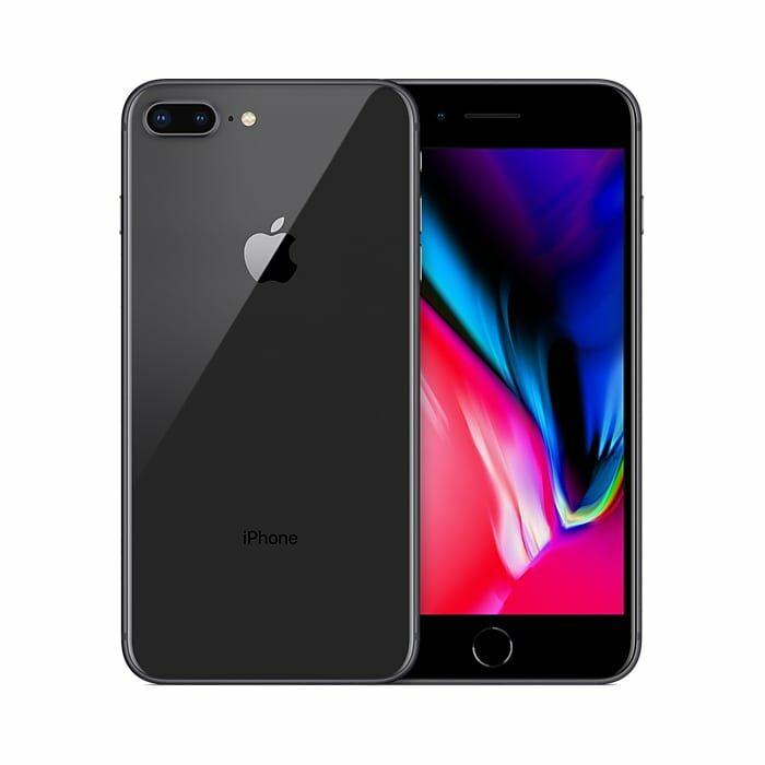 Iphone 8 plus recondicionado, cinzento sideral, com capacidade de 64gb