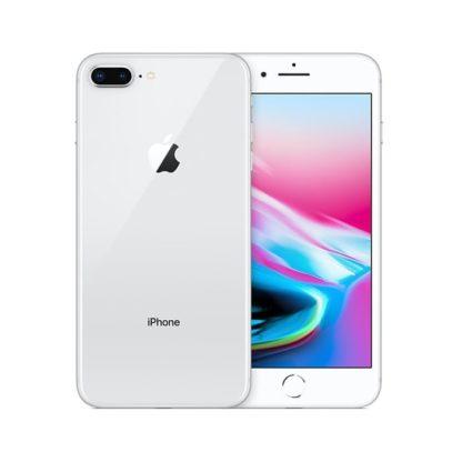 Iphone 8 plus recondicionado, cor prateado, com capacidade de 64 gb