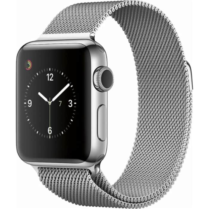 fbe8b77e5ec iOutlet – Apple Watch Series 2 Caixa Aço inoxidável 38mm bracelete ...