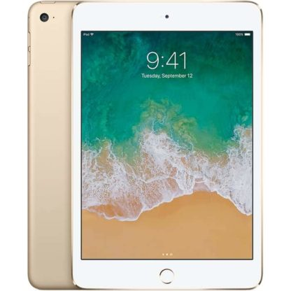 Ipad mini 4, cor dourado, com capacidade de 16 gb