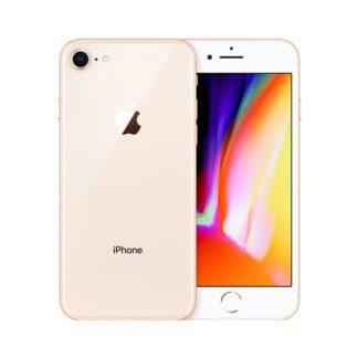 Iphone 8 plus recondicionado, cor dourado, com capacidade de 64 gb