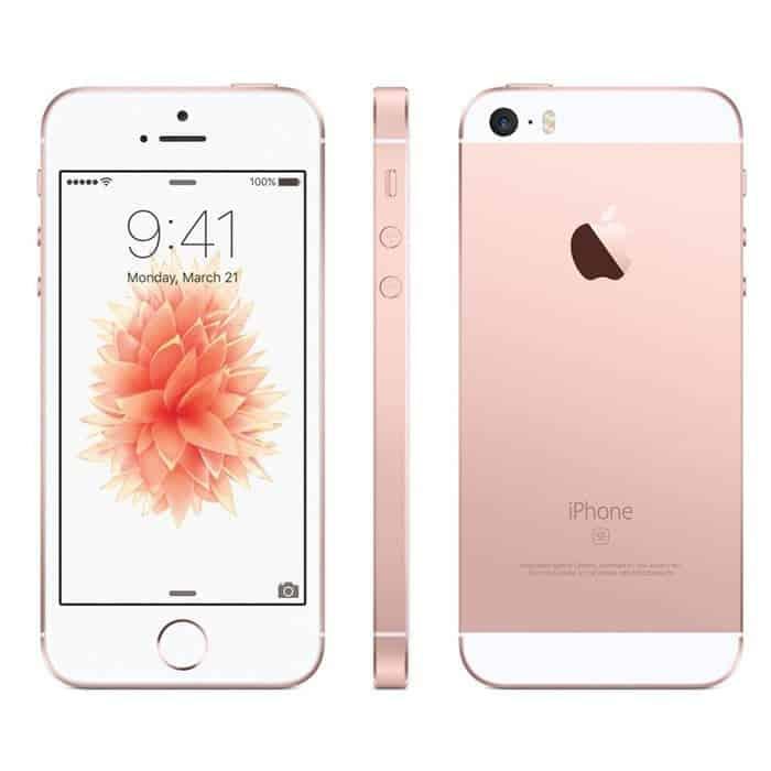 ca47bfc58 Iphone se recondicionado, cor rosa dourado, com 32gb de capacidade
