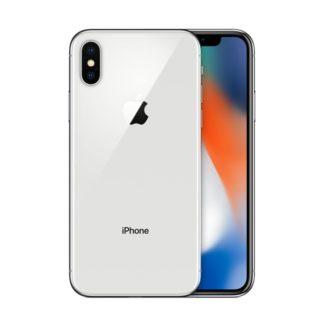 iphone x recondicionado, de cor prateado e com capacidade de 64gb
