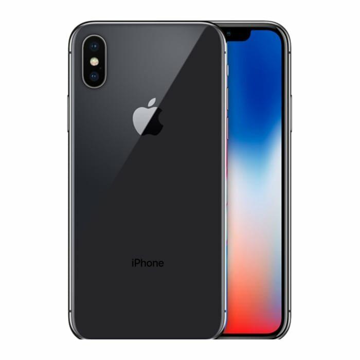 iphone x barato de cor cinzento sideral e com 256 gb de memória