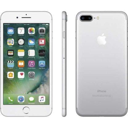 Iphone 7 plus recondicionado, cor prateado, com capacidade de 256 gb