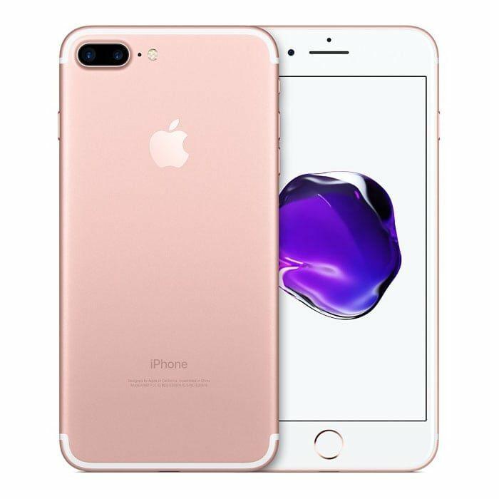 Iphone 7 plus recondicionado, de cor rosa dourado, capacidade 128 gb