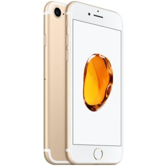 Iphone 7 recondicionado, cor dourado, com capacidade de 32gb