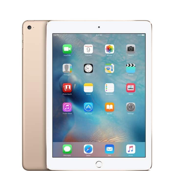 Ipad air 2, cor dourado, com capacidade de 64 gb
