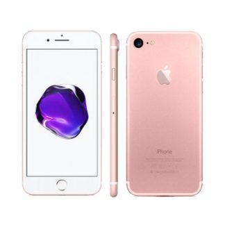 Iphone 7 recondicionado, cor rosa dourado, com capacidade 256gb