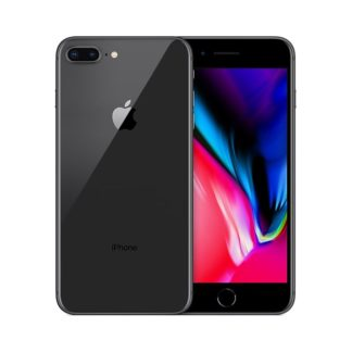 iphone 8 plus recondicionado, de cor cinzento sideral, com capacidade de 64gb